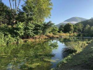 rivier kampeerterrein Rennes-les-Bains