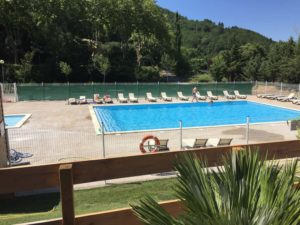 zwembad camping Rennes-les-Bains