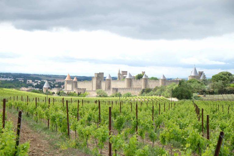 Carcassonne kasteel camping Rennes-les-Bains
