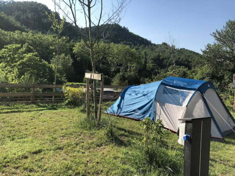 emplacement tente camping de Rennes-les-Bains