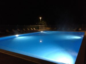 Piscine chauffee camping Rennes-les-Bains