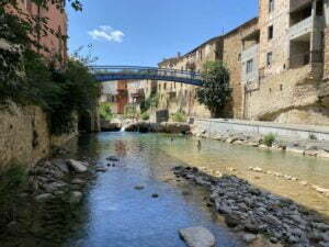 stad rivier Rennes-les-Bains camping